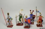 Набор оловянных солдатиков - Рыцари