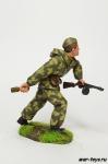 Боец разведроты 1943-45 год - Оловянный солдатик коллекционная роспись 54 мм. Все оловянные солдатики расписываются художником в ручную