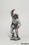 Советский боец, Сталинград. - Оловянный солдатик коллекционная роспись 54 мм. Все оловянные солдатики расписываются художником в ручную