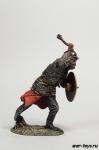 Знатный воин поместного войска, 16-17 вв. - Оловянный солдатик коллекционная роспись 54 мм. Все оловянные солдатики расписываются художником в ручную