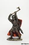 Шведский рыцарь. Невская битва. - Оловянный солдатик коллекционная роспись 54 мм. Все оловянные солдатики расписываются художником в ручную