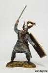 Германский вождь, 9 год н.э. - Оловянный солдатик коллекционная роспись 54 мм. Все оловянные солдатики расписываются художником в ручную