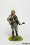 Офицер немецкой армии, 1914 г. - Оловянный солдатик коллекционная роспись 54 мм. Все оловянные солдатики расписываются художником в ручную