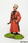 Казак с плеткой, 1914 г. - Оловянный солдатик коллекционная роспись 54 мм. Все оловянные солдатики расписываются художником в ручную