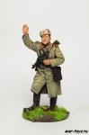 Старший сержант - артиллерист, командир орудия, 1943-45 гг. СССР - Оловянный солдатик коллекционная роспись 54 мм. Все оловянные солдатики расписываются художником в ручную