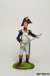 Офицер линейной пехоты. Франция, 1805 год - Оловянный солдатик коллекционная роспись 54 мм. Все оловянные солдатики расписываются художником в ручную