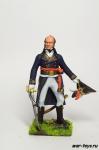 Генерал Томас Дюма. Египет - Оловянный солдатик коллекционная роспись 54 мм. Все оловянные солдатики расписываются художником в ручную