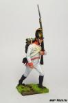 Австрийский рядовой немецкого полка - Оловянный солдатик коллекционная роспись 54 мм. Все оловянные солдатики расписываются художником в ручную
