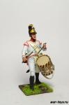 Австрийский барабанщик - Оловянный солдатик коллекционная роспись 54 мм. Все оловянные солдатики расписываются художником в ручную