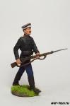 Рядовой белой гвардии ВСЮР, 1920 г - Оловянный солдатик коллекционная роспись 54 мм. Все оловянные солдатики расписываются художником в ручную