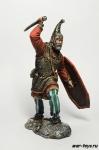Германский вождь, 1-2 вв н.э 75 мм - Оловянный солдатик коллекционная роспись 75 мм. Все оловянные солдатики расписываются мастером в ручную