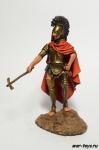 Этрусский Царь Ларс Порсена, ок. 500 г до н.э. - Оловянный солдатик коллекционная роспись 54 мм. Все оловянные солдатики расписываются художником в ручную