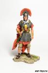 Римский центурион, I в до н.э. - Оловянный солдатик коллекционная роспись 54 мм. Все оловянные солдатики расписываются художником в ручную