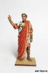 Триумф Цезаря, 52 н.до н.э. - Оловянный солдатик коллекционная роспись 54 мм. Все оловянные солдатики расписываются художником в ручную