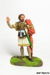 Флавий Велисарий, Византийский Полководец, 500-565 гг. - Оловянный солдатик коллекционная роспись 54 мм. Все оловянные солдатики расписываются художником в ручную