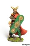 Вождь Бриттов, I в. до н.э. - Оловянный солдатик коллекционная роспись 54 мм. Все оловянные солдатики расписываются художником в ручную