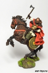 Конный Викинг, 850 - Оловянный солдатик коллекционная роспись 54 мм. Все оловянные солдатики расписываются художником в ручную