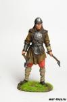 Викинг после боя 6-8 вв - Оловянный солдатик коллекционная роспись 54 мм. Все оловянные солдатики расписываются художником в ручную