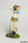 Восточная танцовщица - Оловянный солдатик коллекционная роспись 54 мм. Все оловянные солдатики расписываются художником в ручную