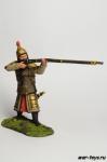 Китаец с ружьем - Оловянный солдатик коллекционная роспись 54 мм. Все оловянные солдатики расписываются художником в ручную