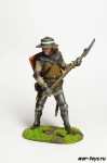 Английский рыцарь - Оловянный солдатик коллекционная роспись 54 мм. Все оловянные солдатики расписываются художником в ручную