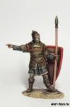 Византийский пехотинец, 13-14 вв. - Оловянный солдатик коллекционная роспись 54 мм. Все оловянные солдатики расписываются художником в ручную