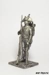 Вольтижер 8-й линии полка 1813 - Не крашенный оловянный солдатик. Высота 54 мм.