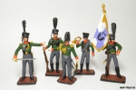 Набор оловянных солдатиков - Прусская армия 1805 год