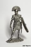 Центурион - Не крашенный оловянный солдатик. Высота 54 мм
