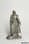 Магистр Тевтонского ордена - Не крашенный оловянный солдатик. Высота 54 мм