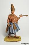 Мернептах Сети I, Египетский Фараон, 1294-1279 гг до н.э. - Оловянный солдатик коллекционная роспись 54 мм. Все оловянные солдатики расписываются художником в ручную