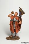 Римский Республиканский Легионер , I в. до н.э. - Оловянный солдатик коллекционная роспись 54 мм. Все оловянные солдатики расписываются художником в ручную
