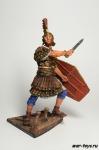 Трибун Легиона Адиутрикс, сер. II в. н.э. - Оловянный солдатик коллекционная роспись 54 мм. Все оловянные солдатики расписываются художником в ручную