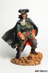 Пират Генри Морган, 1670-е - Оловянный солдатик коллекционная роспись 54 мм. Все оловянные солдатики расписываются художником в ручную