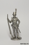 Рядовой пехотного полка Адлеркройца. Швеция, 1809 г.