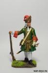 Обер-офицер гренадерских полков армейской пехоты, 1710-е гг. Рос