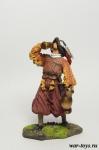 Пьяный ландскнехт - Оловянный солдатик коллекционная роспись 54 мм. Все оловянные солдатики расписываются художником в ручную