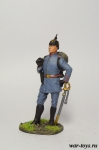 Немецкий пехотный офицер 1914 - Оловянный солдатик коллекционная роспись 54 мм. Все оловянные солдатики расписываются художником в ручную