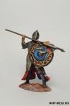 Рыцарь-крестоносец, 12 век - Оловянный солдатик коллекционная роспись 54 мм. Все оловянные солдатики расписываются художником в ручную