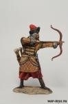 Лучник поместного войска, 16-17 вв. - Оловянный солдатик коллекционная роспись 54 мм. Все оловянные солдатики расписываются художником в ручную