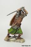 Русский спешенный всадник, 13 век. 75 мм - Оловянный солдатик коллекционная роспись 75 мм. Все оловянные солдатики расписываются художником в ручную