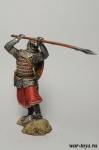 Русский спешенный всадник, 13 век. 75 мм