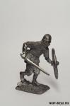 Викинг с мечом, IX-X вв - Оловянный солдатик. Чернение. Высота солдатика 54 мм