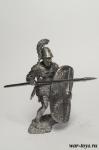 Римский триарий III-II в. до н.э. - Оловянный солдатик. Чернение. Высота солдатика 54 мм