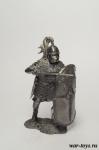 Римский принцип III-II в. до н.э. - Оловянный солдатик. Чернение. Высота солдатика 54 мм