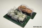 Набор танков Боевые машины мира.  Мардер 1А+LAV-25 - Масштабные коллекционные модели 1:72. Материал : металл, пластик
