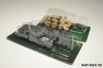 Набор танков Боевые машины мира. Центурион Mk3+AMX 30 - Масштабные коллекционные модели 1:72. Материал : металл, пластик