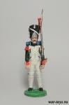 Журнал - Наполеоновские войны №131 (журнал+фигурка) - Гренадер гренадерского полка Итальянской королевской гвардии, 1812 г.