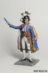 Франция Наполеона. Маршал Клод-Виктор Перрен - Оловянный солдатик коллекционная роспись 54 мм. Все оловянные солдатики расписываются художником в ручную