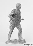 Ефрейтор РККА 1944-1945 гг. - Оловянный солдатик. Чернение. Высота солдатика 54 мм